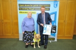 SIMON HART MP MEETS GUIDE DOG USERS