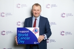 SIMON HART MP SUPPORTS WORLD CANCER DAY