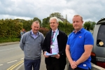 Simon Hart MP pictured at Rushacre Enterprise Park, Narberth
